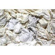 Ветошь х/б трикотаж (лоскут белый 40*60) 10 кг фото