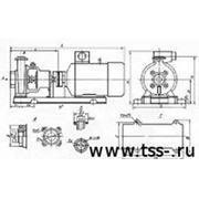 К 100-65-250 с дв. 45 кВт Консольный насосный аппарат фото