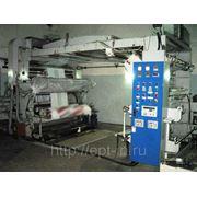Флексопечатная машина 4-х цветная 1500 мм, SLFG150-4, 2006 г.в. фото