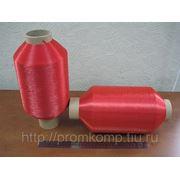 Нить полиамидная 187 текс; блестящая; красная ТУ 6-13-2-99 (Курск) фото