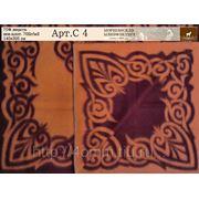 Одеяло шерстяное жаккардовое Арт. С - 4 фото