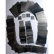 Обогреваемые металлические трафареты фото