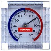 PENOSIL Уличный оконный термометр с биметаллической пружиной (на липучке) фото