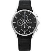 Мужские наручные часы в коллекции Leather Skagen 329XLSLB фото