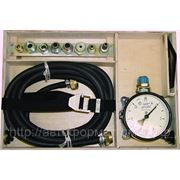 Прибор для проверки пневматического тормозного привода М 100.02 фото