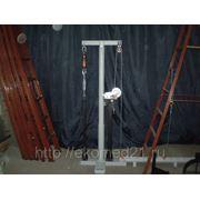 Стенд механических испытаний принадлежностей для ведения работ на высоте фото