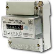 Электрический счетчик СОЭ52 фото