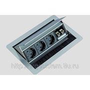 Встраиваемая розетка EVOline FlipTop DATA 934.20.002 фото