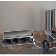 Встраиваемая розетка EVOline FlipTop CUISINE 934.20.001 фото