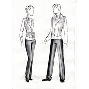Индивидуальный пошив спецодежды жилетов, брюк и рубашек.