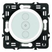 Светорегулятор сенсорный Legrand Celiane 400Вт с лицевой панелью (белый) фото