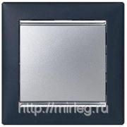 Legrand Valena Рамка 1-я (ноктюрн/серебро) фото