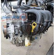 Контрактный двигатель (бу) FYJA, FYJB 1,6л Zetec для Ford (Форд) FUSION (ФЬЮЖЕН), FIESTA (ФИЕСТА) фото