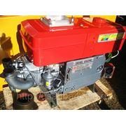 Дизельный двигатель 15 л. с. с водяным охлаждением и электростартером. фото