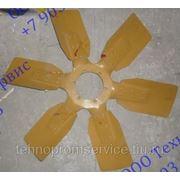 Вентилятор охлаждения(пластик) двигателя WD 615, WD 10 фото