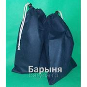 Чехол для обуви плоский 25х36 (2шт. в комплекте) синий фото