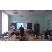 Установка пуско-наладка: проектор+ экран. фото