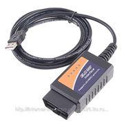 Диагностический адаптер ELM327 USB фото