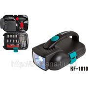 1010 Комплект из 24 инструметов с фонарем с 7 светодиодами «Komfort» фото