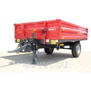 Прицеп тракторный одноосный T 735/1 - 2,5T Metal Fach фото