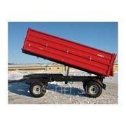 Прицеп тракторный двухосный T 710/1 - 6T Metal Fach фото