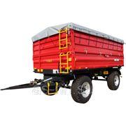Прицеп тракторный двухосный T 711/3 - 12T Metal Fach фото