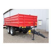 Прицеп тракторный T 730/1 - 8T Metal Fach фото