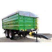 Прицеп тракторный T 730/3 - 12T Metal Fach фото