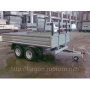 Прицеп тандем — бортовой, грузоподъемность 2400 кг. фото