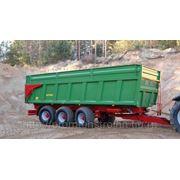 Монолитный прицеп тридем Т682 (21 тонна) фото