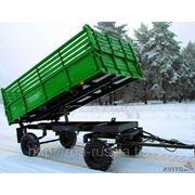 2 ПТС-4,5 Прицеп тракторный самосвальный фото