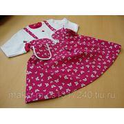 Платье-сарафан, осень фото