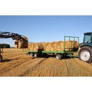 Прицепы для перевозки рулонов от 7 до 13 тонн фото