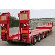 Низкорамный полуприцеп-тяжеловоз KAESSBOHRER 47/67 тонн,от официального дилера завода.