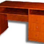 Стол письменный с ящиками фото