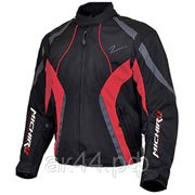 Куртка мотоциклетная, MICHIRU, Street Racer, Цвет Черно-красный фото