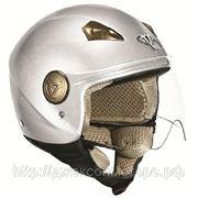 Шлем Vega HD306 Solid серебристый глянцевый M фото