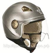 Шлем Vega HD306 Solid титановый глянцевый М фото