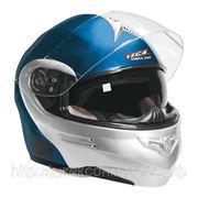Шлем Vega HD 185 Two Tone сине-серебристый М фото