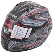 Шлем Vega ALTURA Lock and Load черный матовый (M) фото