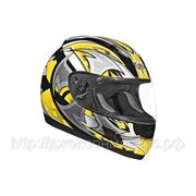 Шлем ALTURA Shuriken желтый/черн. глянцевый S фото
