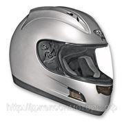 Шлем Vega HD188 Solid серебристый глянцевый S фото