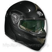 Шлем Vega модуляр HD185 черный глянцевый М фото