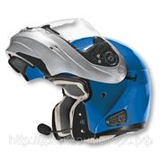 Шлем Vega HD 185 Two Tone сине-серебристый S фото