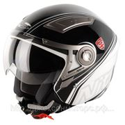 Шлем Nitro NP-100J Insignia черный/белый S фото