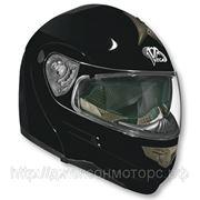 Шлем Vega модуляр HD185 черный матовый L фото