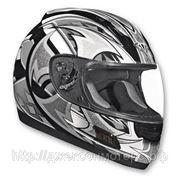 Шлем ALTURA Shuriken серо-черный глянцевый M фото
