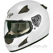Шлем интегральный Vega HD188 Solid белый глянцевый S фото