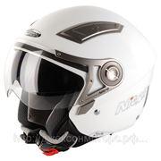 Шлем Nitro NP-100J Insignia Solid белый глянцевый M фото