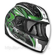 Шлем Vega ALTURA Slayer зеленый/черный. глянцевый. S фото